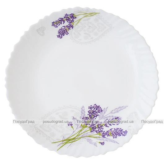 Набор десертных тарелок «Лавандовый сад» Ø17.5см, стеклокерамика