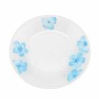 """Набор 6 десертных тарелок """"Блюз"""" Ø18см, стеклокерамика"""