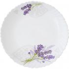 Набір обідніх тарілок «Лавандовий сад» Ø20.5см, склокераміка