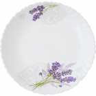 Набор обеденных тарелок «Лавандовый сад» Ø20.5см, стеклокерамика