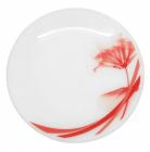 "Набор 6 мелких тарелок ""Фуксия"" Ø20см, стеклокерамика"