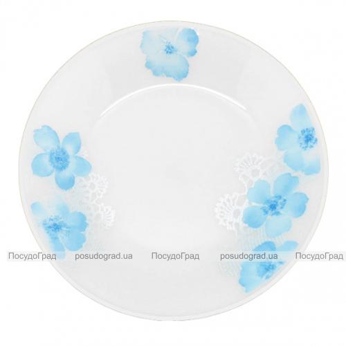 "Набор 6 мелких тарелок ""Блюз"" Ø20см, стеклокерамика"