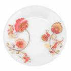 Набор 6 мелких тарелок Мальва Ø20см, стеклокерамика
