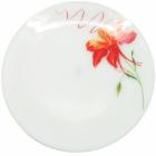 """Набор 6 подставных тарелок """"Тигровая Лилия"""" Ø23см, стеклокерамика"""