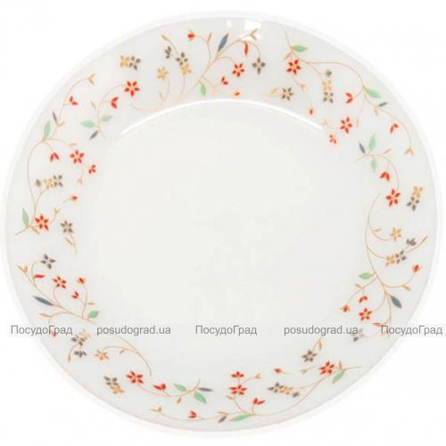 "Набор 6 подставных тарелок ""Маттиола"" Ø23см, стеклокерамика"