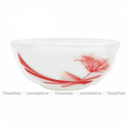 """Набор 4 салатника """"Фуксия"""" Ø16.5см, стеклокерамика"""