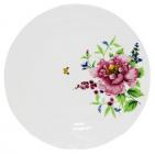 "Набор 6 мелких тарелок ""Летний Сад"" Ø20см, фарфор"