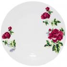 """Набір 6 обідніх тарілок """"Квітуча Півонія"""" Ø22.5см, фарфор"""