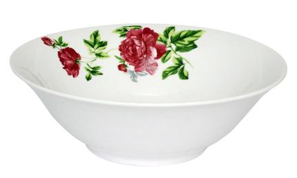 """Набор 6 салатников """"Цветущий Пион"""" Ø18см, фарфор"""