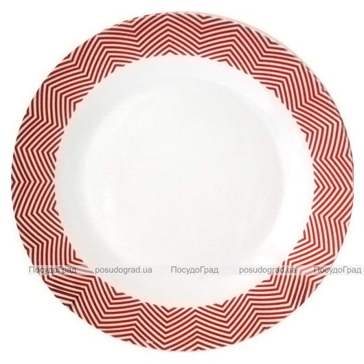 "Набор 6 десертных тарелок ""Модерн"" Ø20.5см, керамика"