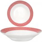 """Набір 6 супових тарілок """"Модерн"""" Ø20.5см, кераміка"""