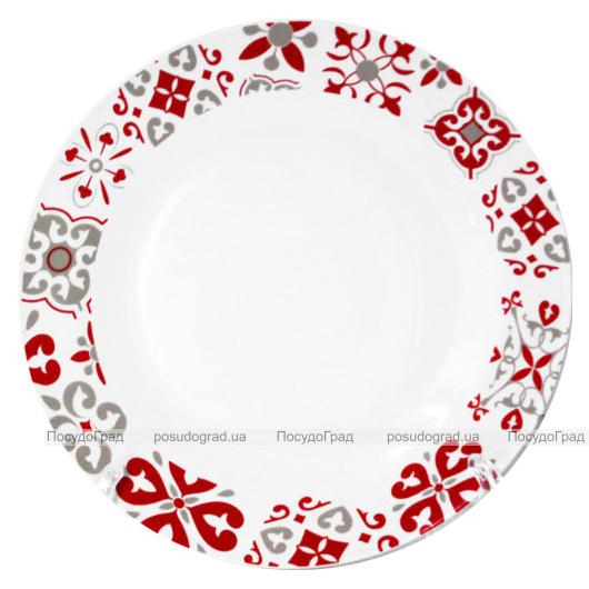 """Набір 6 десертних тарілок """"Вишуканість"""" Ø20.5см, кераміка"""