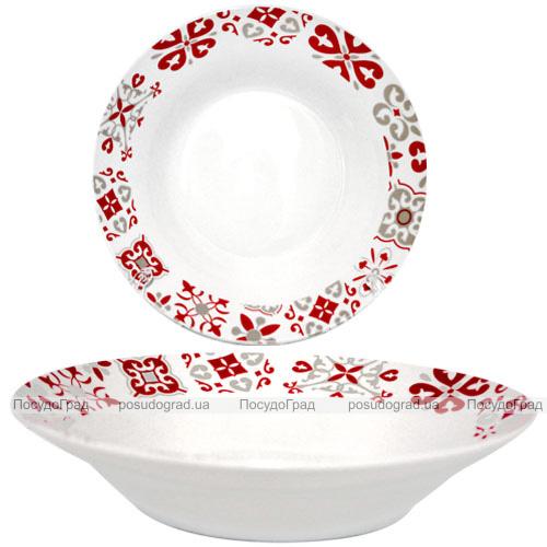 """Набір 6 супових тарілок """"Вишуканість"""" Ø20.5см, кераміка"""