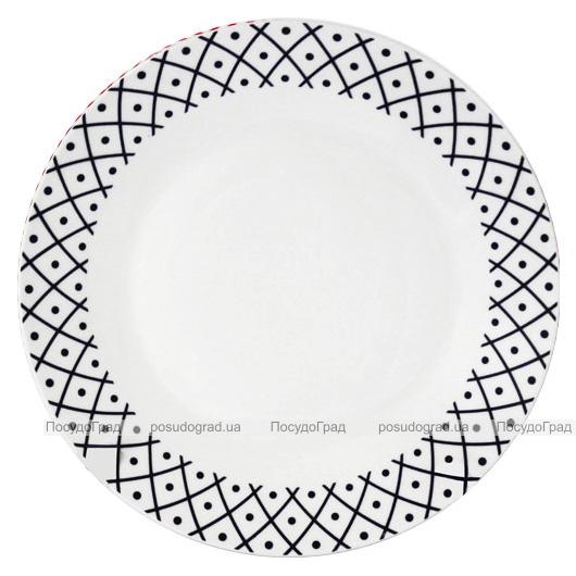"""Набор 6 десертных тарелок """"Нью"""" Ø20.5см, керамика"""
