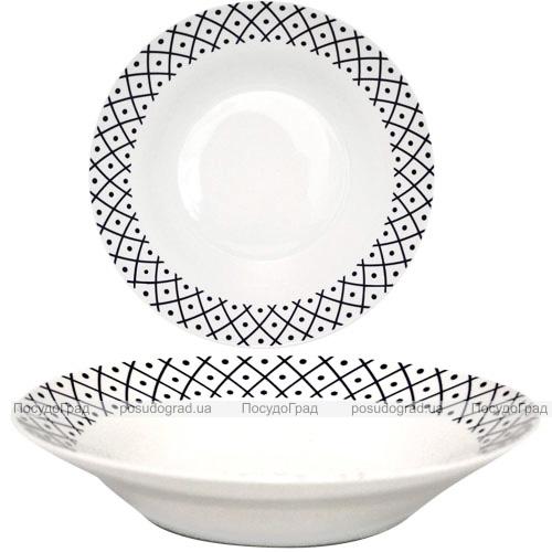 """Набор 6 суповых тарелок """"Нью"""" Ø20.5см, керамика"""