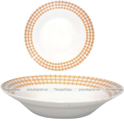 """Набір 6 супових тарілок """"Помаранч"""" Ø20.5см, кераміка"""