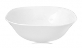 Набор 6 салатников Infinite Tenderness белые 15см, стеклокерамика