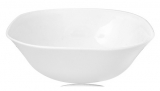Набор 6 салатников Infinite Tenderness белые 20.5см, стеклокерамика