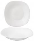 Набор 6 суповых тарелок Infinite Tenderness белые 23см, стеклокерамика