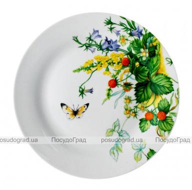 """Набор 6 мелких тарелок """"Лесная поляна"""" Ø20.5см"""