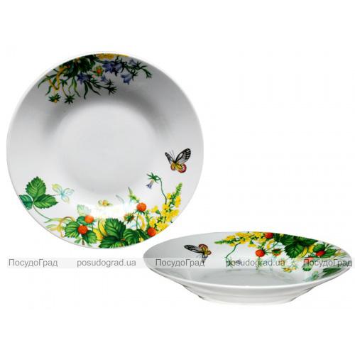 """Набор 6 суповых тарелок """"Лесная поляна"""" Ø20.5см"""