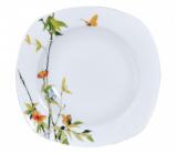 """Набор 6 квадратных суповых тарелок """"Бамбук"""" Ø22.5см"""