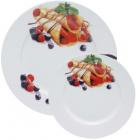 Набор тарелок для блинов Pancakes Ягоды, блюдо Ø27см и 6 тарелок Ø20см