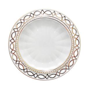 """Набор 6 десертных тарелок """"Кружево"""" Ø20см"""