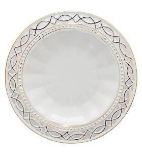 "Набор 6 суповых тарелок ""Кружево"" Ø23см"