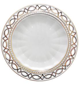 "Набор 6 подставных тарелок ""Кружево"" Ø25.2см"