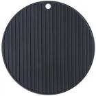 Подставка под горячее Black Protect силиконовая Ø18.5см