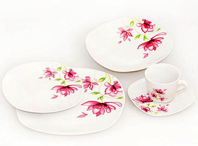 """Набор тарелок """"Primavera"""" 30 предметов на 6 персон"""