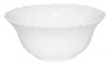Набор 6 салатников Infinite Tenderness белые Ø15см, стеклокерамика
