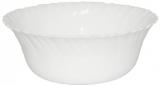 Набор 6 салатников Infinite Tenderness белые Ø18см, стеклокерамика