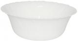 Салатник Infinite Tenderness белый Ø20.5см, стеклокерамика