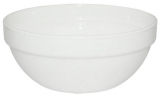 Набор 6 салатников Infinite Tenderness белые Ø17.5см, стеклокерамика