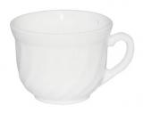 Набор 6 чашек Infinite Tenderness белые 190мл, стеклокерамика