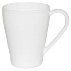 Набор 6 чашек Infinite Tenderness белые 320мл, стеклокерамика