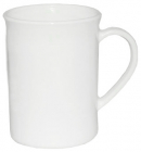 Набор 6 чашек Infinite Tenderness белые 330мл, стеклокерамика