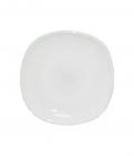 Набор 6 блюдец Infinite Tenderness белые квадратное 14см, стеклокерамика