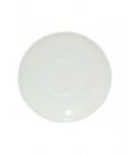 Набор 6 блюдец Infinite Tenderness белые Ø15.5см, стеклокерамика