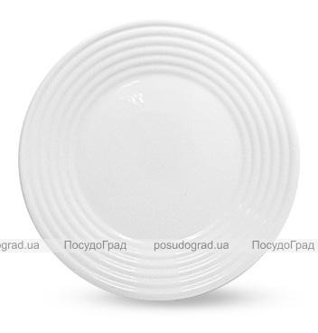 """Набор 6 десертных тарелок """"Грация"""" Ø19см, стеклокерамика"""