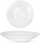 Набор 6 суповых тарелок Грация Ø21.5см, стеклокерамика