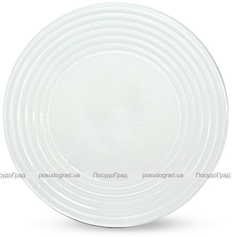 """Набір 6 обідніх тарілок """"Грація"""" Ø26см, склокераміка"""