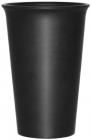 Стакан керамічний Black Style 400мл чорний