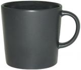 Кружка керамическая Black Style 380мл черная