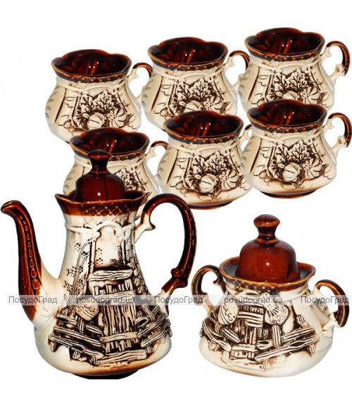 """Набор чайный """"Сонет"""" 8 предметов на 6 персон"""