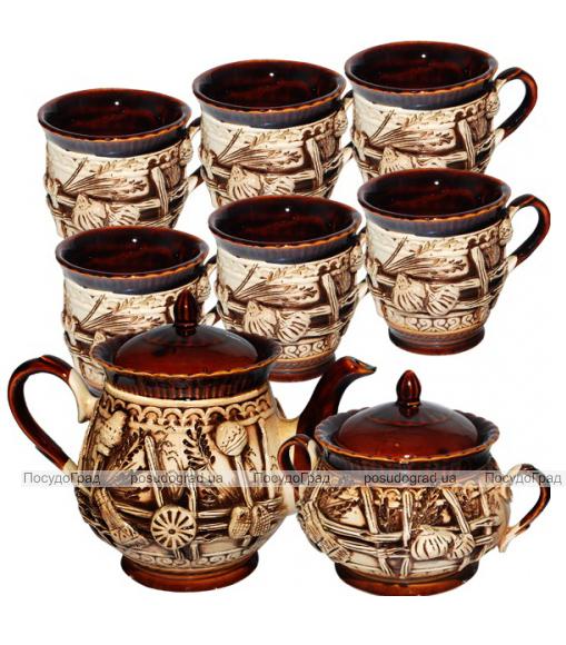 """Набор чайный """"Витязь"""" 8 предметов на 6 персон"""