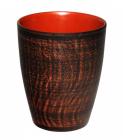 Стакан керамический Славянский подарок 400мл Дымленая керамика