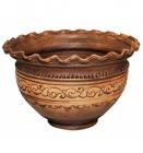 Макитра-волна Покутская Керамика Шляхтянская 4л